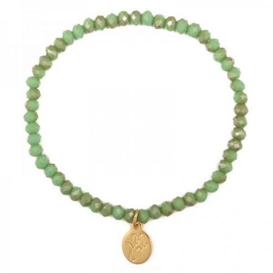 kralen armband groen