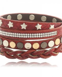 stoere armband studs sterren