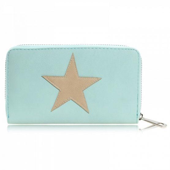 Portemonnee wallet star roze