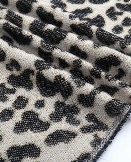 Sjaal luipaardprint