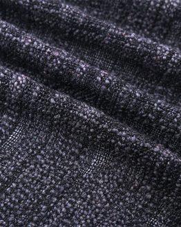 fuzzy sjaal zwart