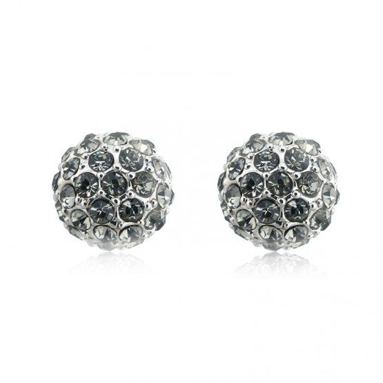 chique oorknopjes zilver