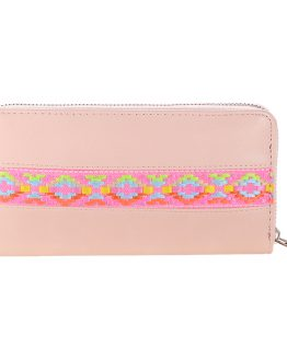 wallet portemonnee pink