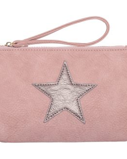kleine roze tas met ster