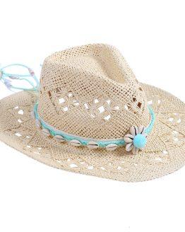 hoed accessoire pompon ibizastyle