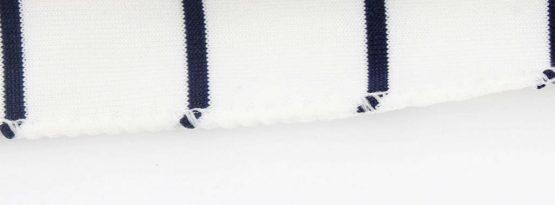 sjaal patched gestreept