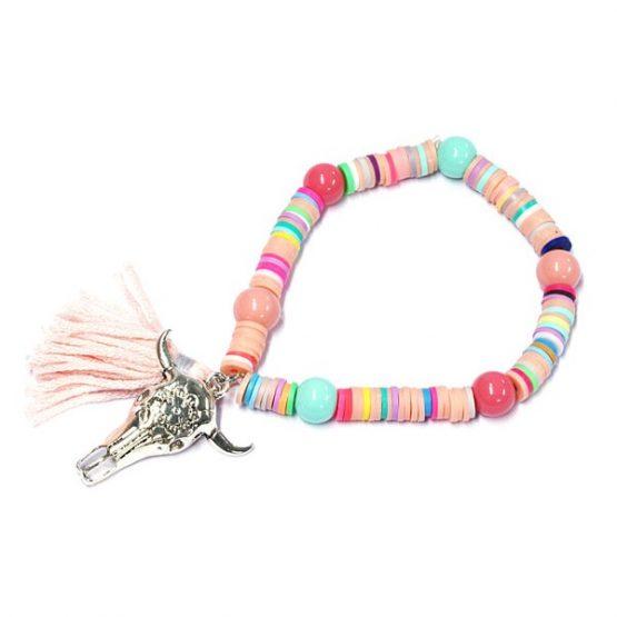 kleurrijke bohemian armband_buffalo