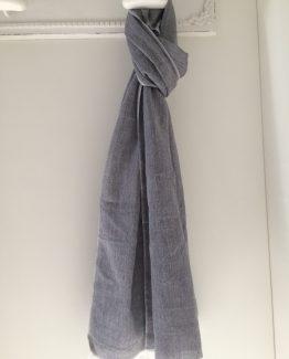 sjaal uni blauw