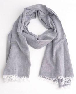 Mooie blauwe sjaal