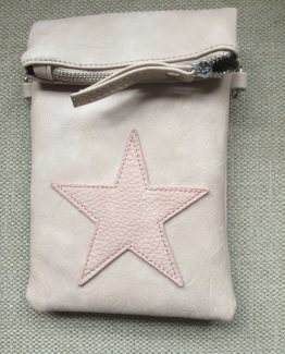 Ibiza star flip top bag pink roze