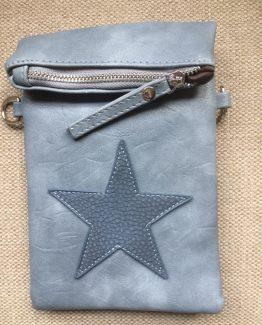 Ibiza star flip top bag blue blauw