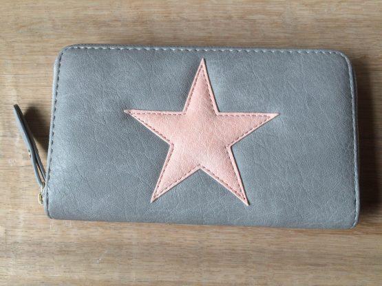 Wallet Start Grey/Pink
