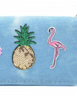 portemonnee_patched_flamingo_ananas_cactus