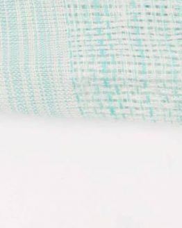 sjaal gestreept mintgroen