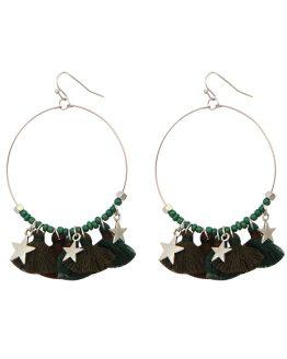 Geweldige tassel oorbellen met sterren, de trend van dit moment!