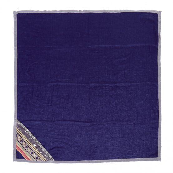 prachtige sjaal arabian fantasy afgewerkt met pailletten en borduursels