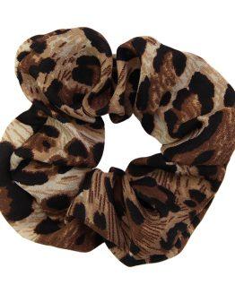 haarelastiek tijgerprint