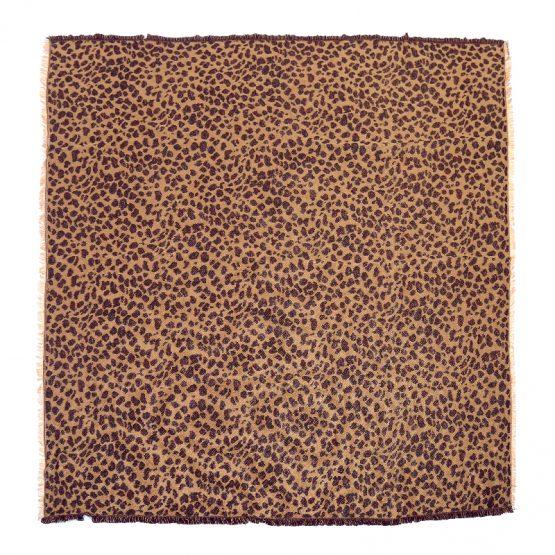 stoere sjaal met luipaard print, een must have