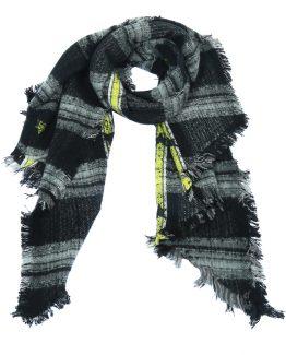 stoere sjaal met strepen