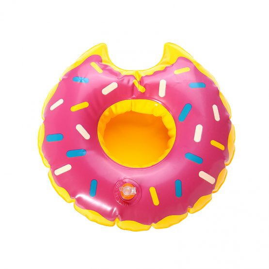inflatable cup holder donut