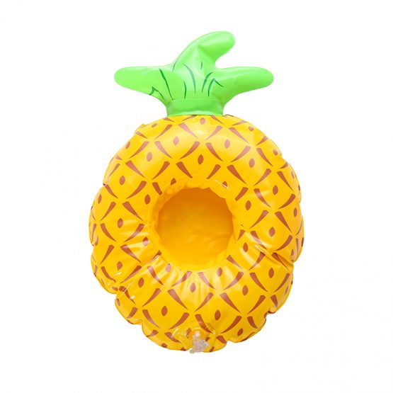 inflatable cup holder ananas