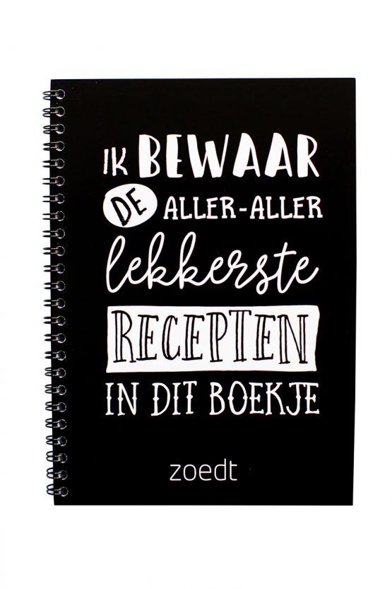 Invulboek recepten Zoedt