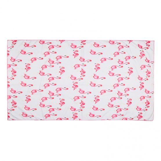 beach towel flamingo posse