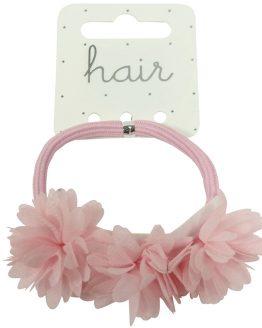 haarelastiek armband bloemen
