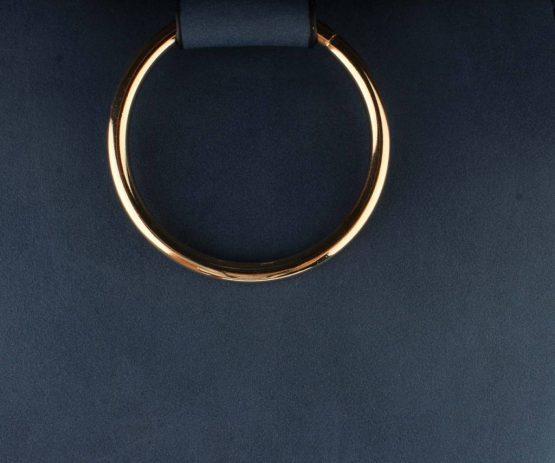 nette crossbody tas dubbele ring