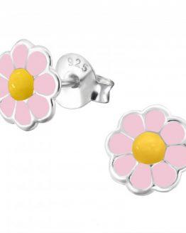 kinderoorbellen lichtroze bloemetjes