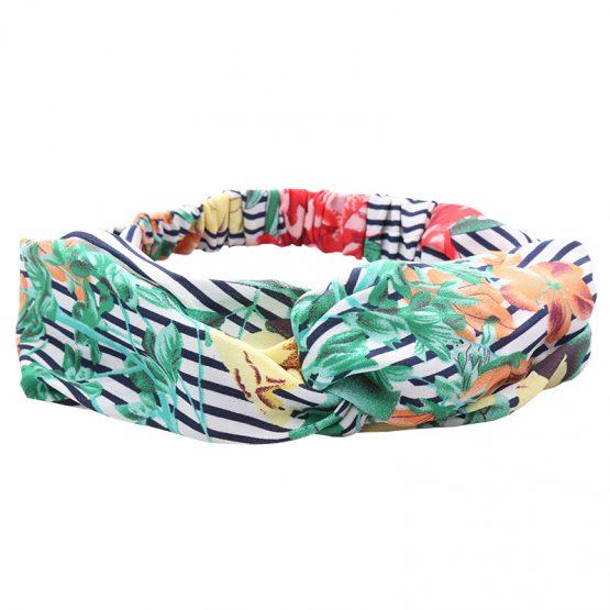 Trendy haarband met bloemen