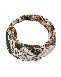haarband slangenprint