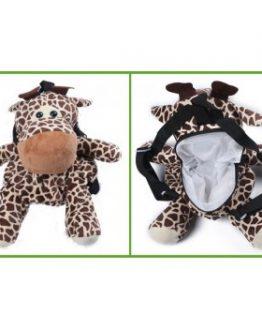 pluche kinderrugzak giraffe