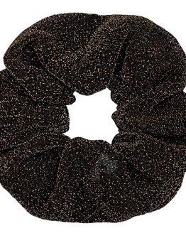 bruine glitter scrunchie