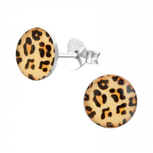 kinderoorbellen met luipaardprint