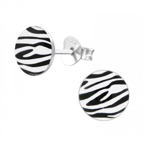 kinderoorbellen met zebraprint