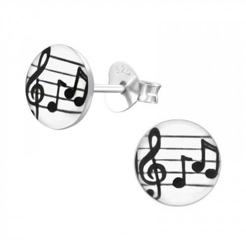 kinderoorbellen met muzieknoten