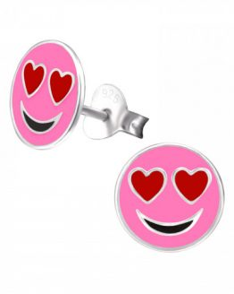 roze smiley kinderoorbellen