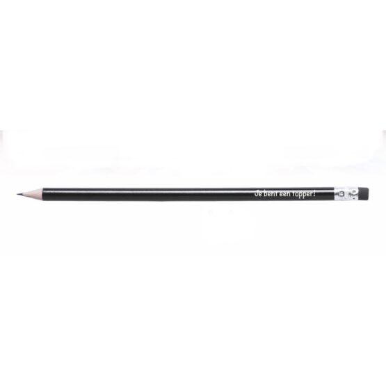 juf je bent een topper potlood